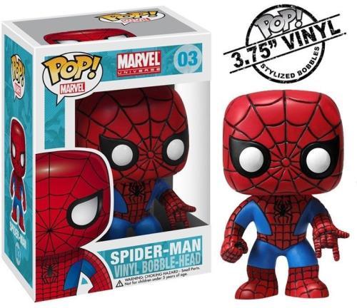MAN EN BOITE NEUF SPIDER-MAN PACK DE 3 FIGURINES SÉRIE THE AMAZING SPIDER