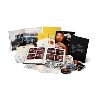 Red Rose Speedway Edition Super Deluxe Inclus 3 CD et 2 DVD