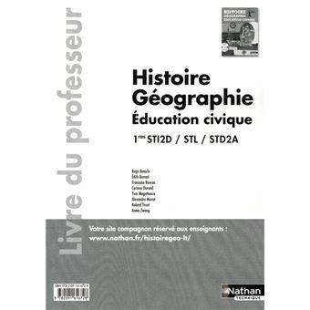 Hist-geog 1e sti2d/stl/std2a