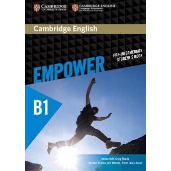 CAMBRIDGE ENGLISH EMPOWER PRE-INTERMEDIATE-STUDENT'S BOOK