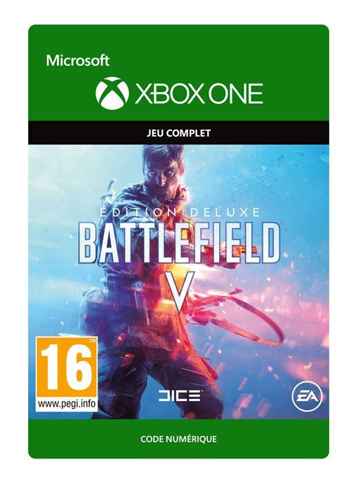 Code de téléchargement Battlefield V Edition Deluxe Xbox One