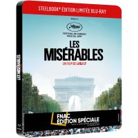 Les Misérables Steelbook Edition Spéciale Fnac Blu-ray
