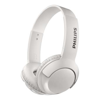 Koptelefoon Philips Bass + SHB3075 Bluetooth White