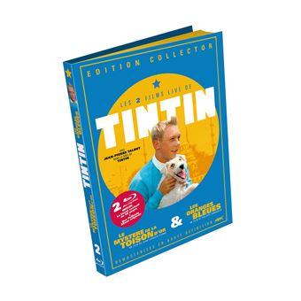 TintinCoffret Tintin 2 films Edition Collector Blu-ray