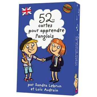 52 Cartes Pour Apprendre L Anglais