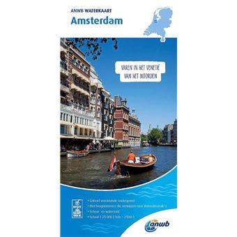 ANWB Waterkaart Amsterdam 2019-2020