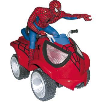 quad spider man voiture radio command achat prix. Black Bedroom Furniture Sets. Home Design Ideas