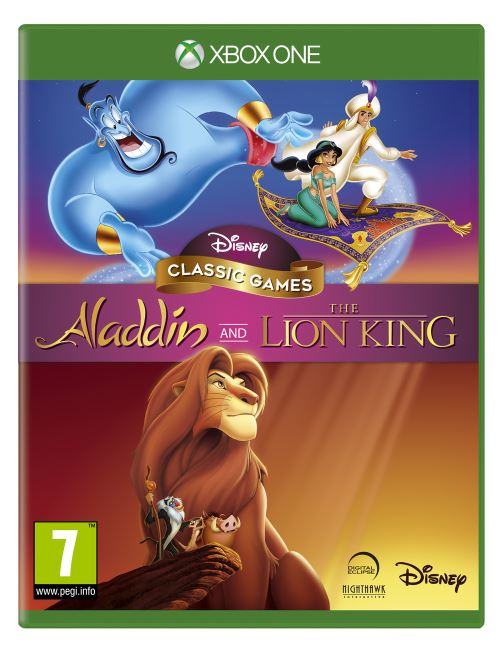 Aladdin et le Roi Lion Remaster Collection Xbox One