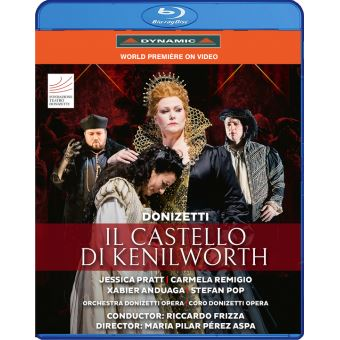 CASTELLO DI KENILWORTH/BLURAY
