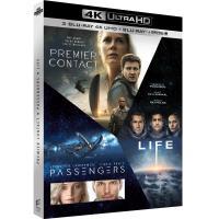 Coffret Premier contact Passengers Life Blu-ray 4K Ultra HD