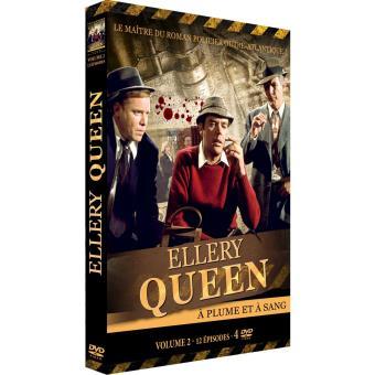 Ellery QueenELLERY QUEEN A PLUME ET A SANG S2-FR-4DVD