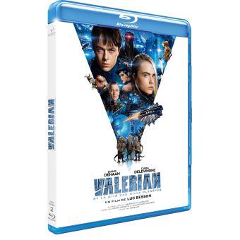 Valérian et LaurelineValérian et la Cité des Mille Planètes Blu-ray