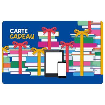 Carte Cadeau Fnac Valable.E Carte Cadeau Fnac Ebook