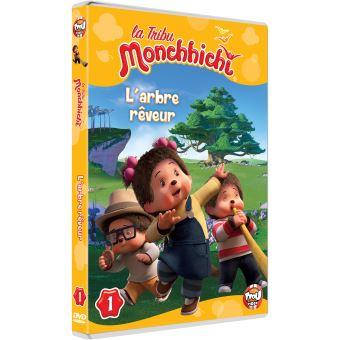 La tribu MonchhichiLa tribu Monchhichi L'arbre rêveur Volume 1 DVD