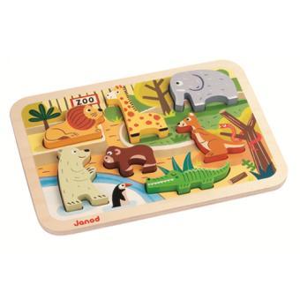 Chunky Puzzle Zoo Janod