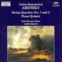 Quatuors à cordes N°1 et N°2 - Quintette avec piano / op.61