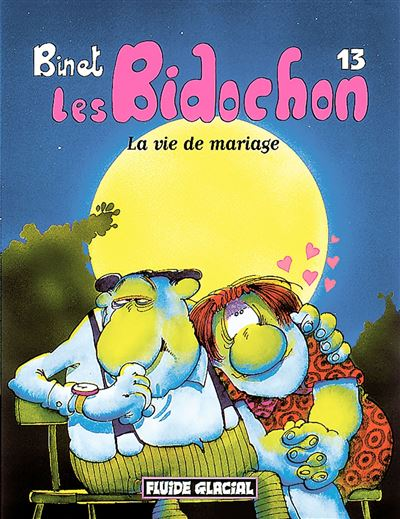 Les bidochon t.13 ; la vie de mariage
