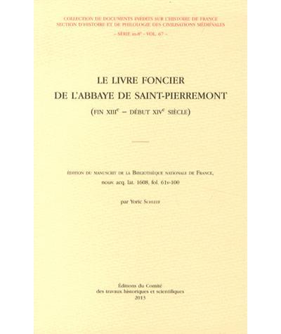 Livre foncier de l'abbaye de Saint Pierremont