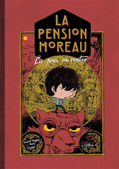La pension moreau t2 : la peur au ventre