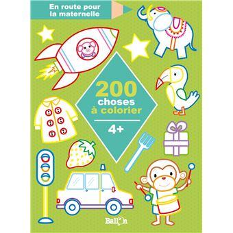 200 choses à colorier 4+