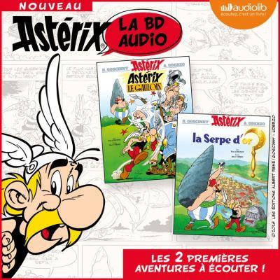 Astérix le Gaulois / Astérix - La Serpe d'or - Format Téléchargement Audio - 9782367628677 - 19,95 €
