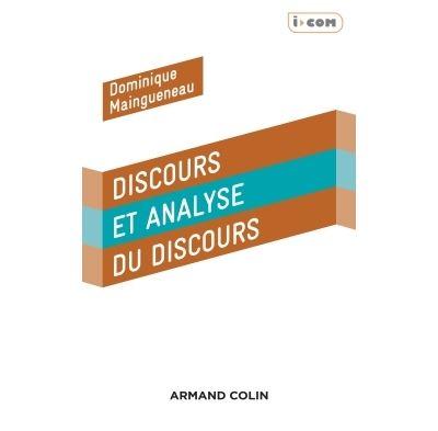 Discours et analyse du discours