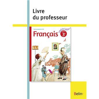 L'envol des lettres Français 3ème, Cycle 4
