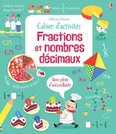 Cahier d'activités - Fractions et nombres décimaux