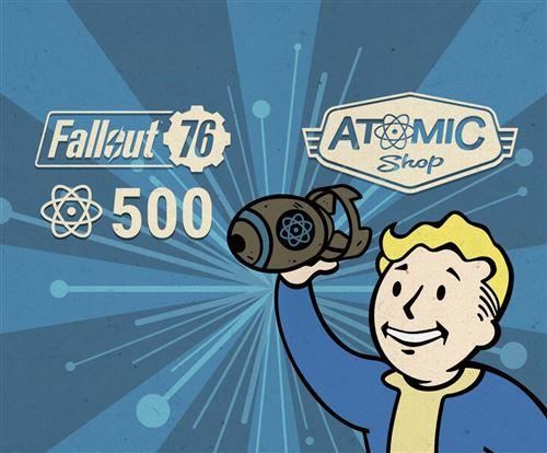 Code de téléchargement Fallout 76 500 Atoms PS4