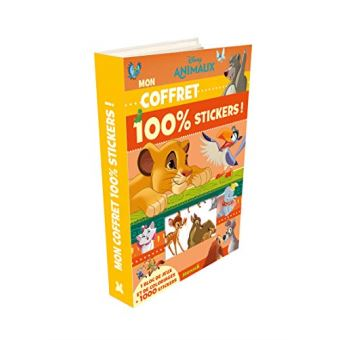 DisneyAnimaux mon coffret 100% stickers