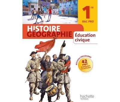 Histoire Géographie 1re Bac Pro - Livre élève grand format