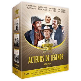 Coffret Acteurs de légende Volume 4 DVD