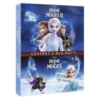 Coffret La Reine des Neiges 1 et 2 Blu-ray