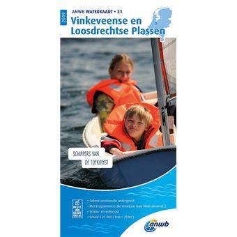 Vinkeveense en Loosdrechtse Plassen ANWB Waterkaart 21