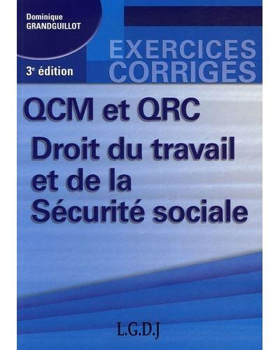 QCM et QCR Droit du travail et de la Sécurité sociale