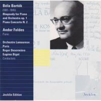 Rhapsodie op.1 pour piano et orchestre, Concerto pour piano