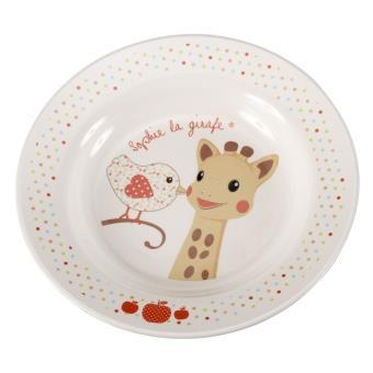 coffret repas vulli sophie la girafe version kiwi assiette achat prix fnac. Black Bedroom Furniture Sets. Home Design Ideas