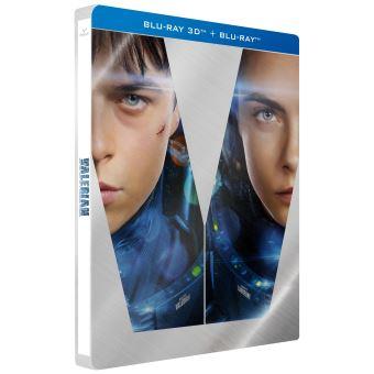 Valérian et LaurelineValérian et la Cité des Mille Planètes Edition Limitée Steelbook Blu-ray 3D + 2D
