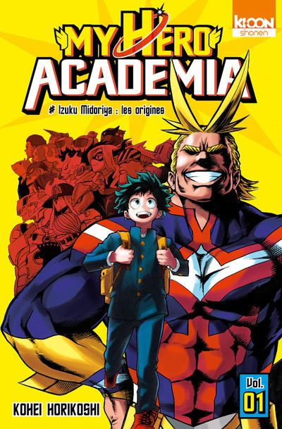 My Hero Academia - Tome 01 : My Hero Academia