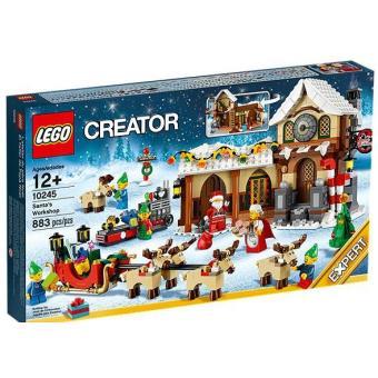 pere noel lego LEGO® Creator 10245 L'Atelier du Père Noël   Lego   Achat & prix  pere noel lego