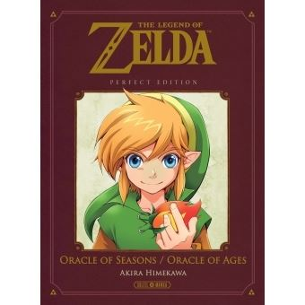 The Legend Of Zelda Perfect Edition The Legend Of Zelda Oracle Of Seasons Ages Perfect Edition