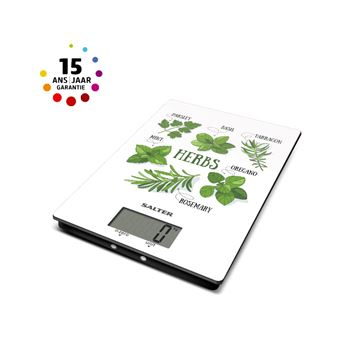 SALTER KITCHEN SCALE HERBS
