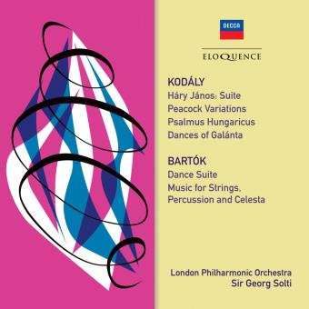 KODALY & BARTOK: ORCHESTRAL WORKS/2CD