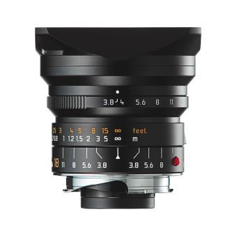 Objectif hybride Leica Super Elmar M f/3.8 18 mm ASPH. Noir