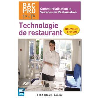 Technologie de restaurant 1 re term bac pro csr pochette l ve edition 2017 broch c - Technologie cuisine bac pro ...