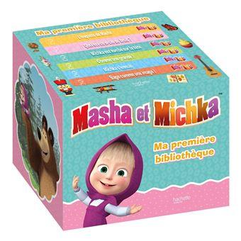 Masha et MichkaMa première bibliothèque