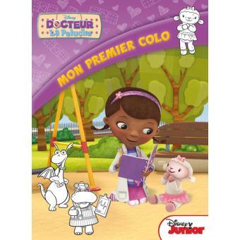 Mon Premier Coloriage Disney Junior Doc La Peluche Broche Walt Disney Achat Livre Fnac