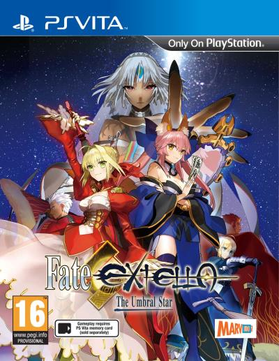 Fate Extella The Umbral Star PS Vita
