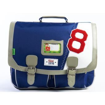 cartable tann 39 s collector voile bleu 41 cm cartable sac dos primaire achat prix fnac. Black Bedroom Furniture Sets. Home Design Ideas