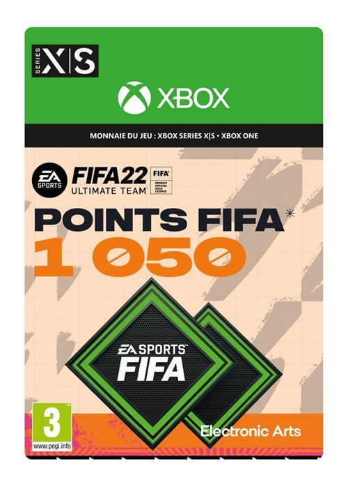 FIFA 22 Ultimate Team 1050 points Xbox